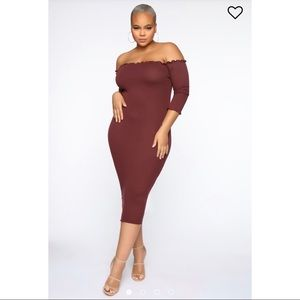 Fashion Nova Jacky's Love Dress - Plum